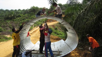 Corrugated Steel Pipe Praktis dan Multiguna
